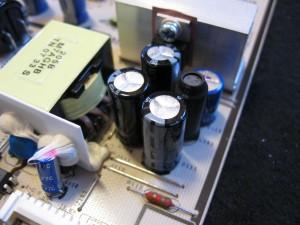 Nya utbytta kondensatorer