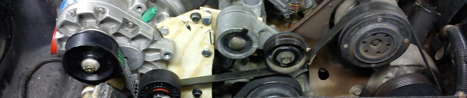 Provisorisk montering av kompressor