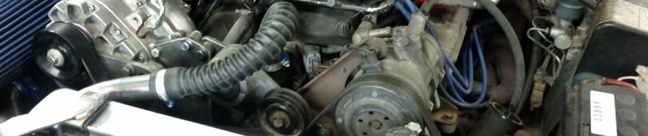 Motor i Mustangen