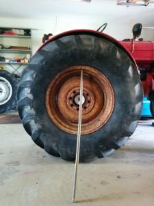 Feta traktorbakdäck